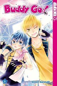BUDDY GO! * Band 5 + 6 * Manga * TokyoPop * NEU * Bonus
