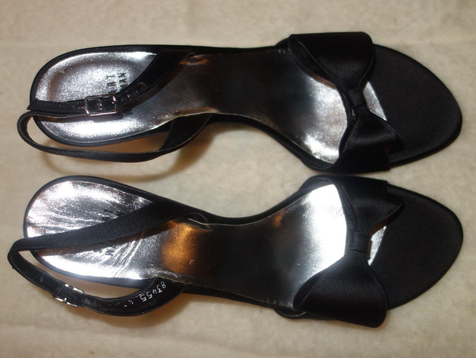 Stuart Weitzman Bowlarama' sandals schwarz schwarz schwarz - sz 41 US SZ 10 new 45b2b0