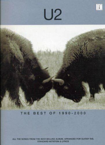 Gu.. The Best of 1990-2000 U2 THE BEST OF 1990-2000 TAB by Various Paperback
