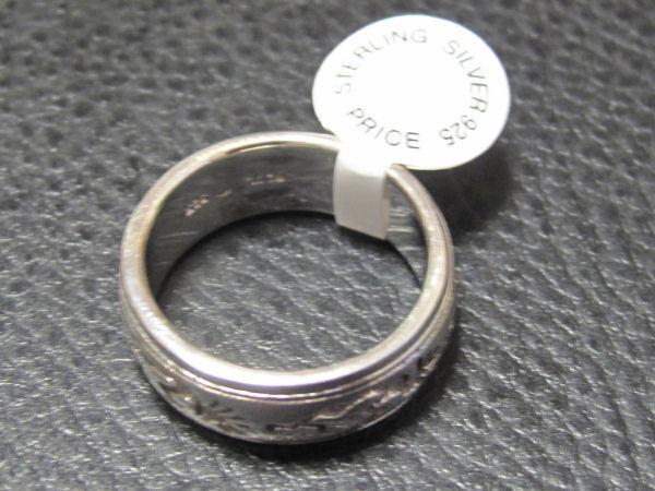 KOKOPELLI KOKOPELLI KOKOPELLI doppio Spinner Anello } .925 argentoo nativi americani da PETER STONE 081586