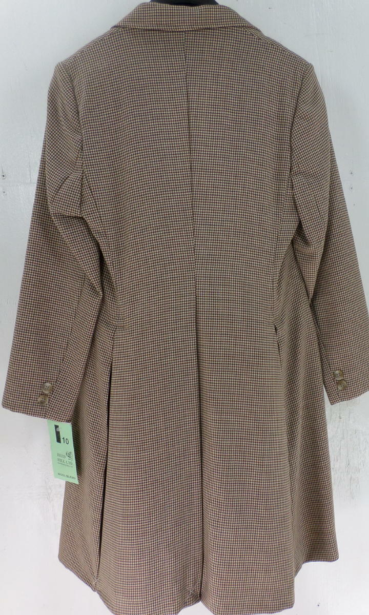 Reed Hill Child's Saddleseat Day Coat CAMEL Größe / braun HOUNDSTOOTH  Größe CAMEL 6 - USA 30f43a