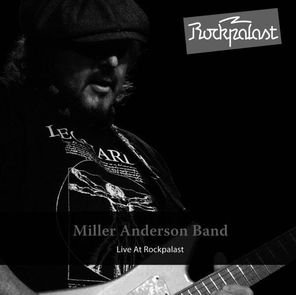 MILLER BAND ANDERSON - LIVE AT ROCKPALAST 2010  CD NEU