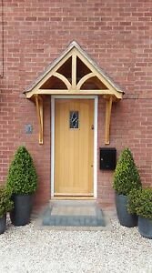 Oak Timber Front Door Canopy Porch Quot Blakemere Quot Shropshire
