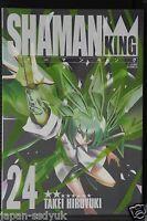 JAPAN Hiroyuki Takei manga: Shaman King Kanzenban vol.24