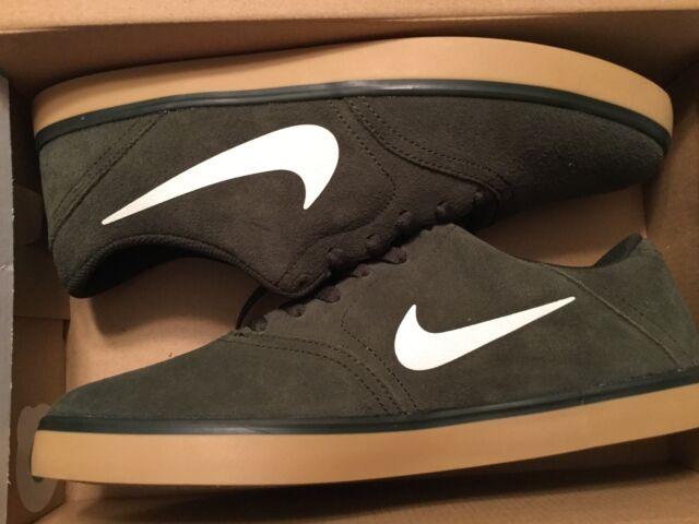 7e8bf45c Nike SB Check Solarsoft Skateboarding Shoes Mens 12 Sequoia Gum 705265 312