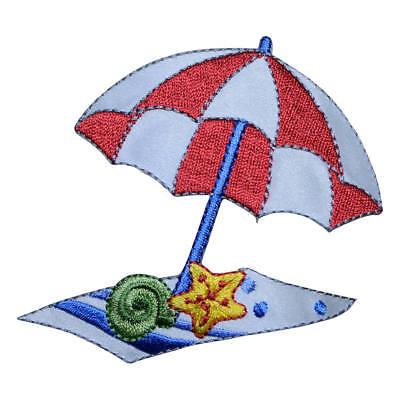 Coconut Tree,Beach Chair,Sunhat,Sun Umbrella Embroidery Iron On Applique Patch