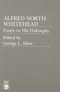 ALFRED NORTH WHITEHEAD By George L. Kline *Excellent Condition*