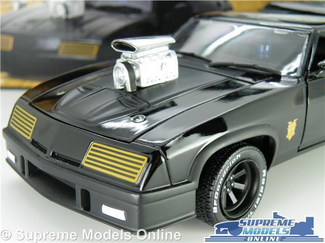 Mad Max Ford Falcon Xb V8 Modelo de de de Coche 1 24 escala Negro Grande verdelight película K8 30dccf
