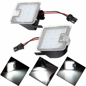 2pcs 18 LED Side Puddle LED Light Mirror Lamp For Ford Focus Escape Kuga C-Max