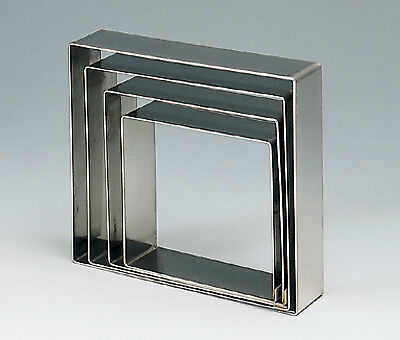 De Buyer Stainless Square Cake Ring