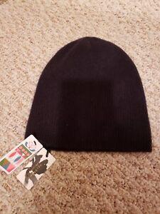 5adea33110 Image is loading New-NORDSTROM-Winter-Hat-100-cashmere-HALOGEN-WOMEN-