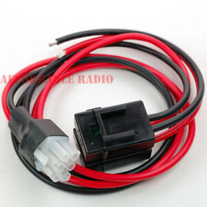 6 pin 12awg dc power cord cable for yaesu radio ft 847 ft. Black Bedroom Furniture Sets. Home Design Ideas