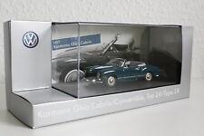 SONDERPREIS VW Karmann Ghia Cabrio Typ 14 blau 1957 Minichamps DEALER Neu 1:43