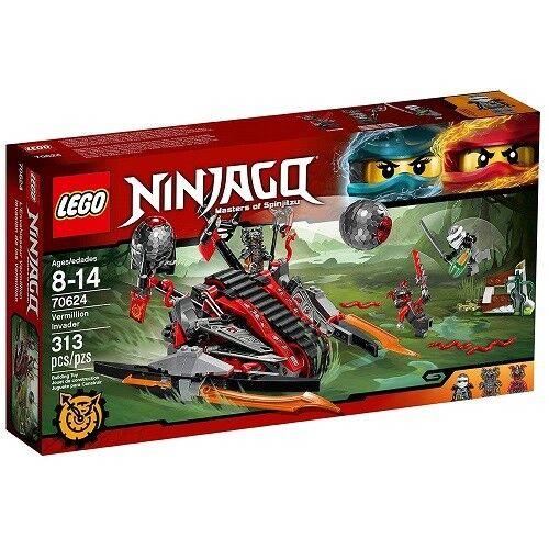 Nuevo  Lego Ninjago (70624) bermellón invasor - 313 piezas