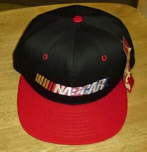NASCAR hat New Deadstock Vintage snapback RaRe cap made by AJD new w ... 4f0c9bf0e5d5