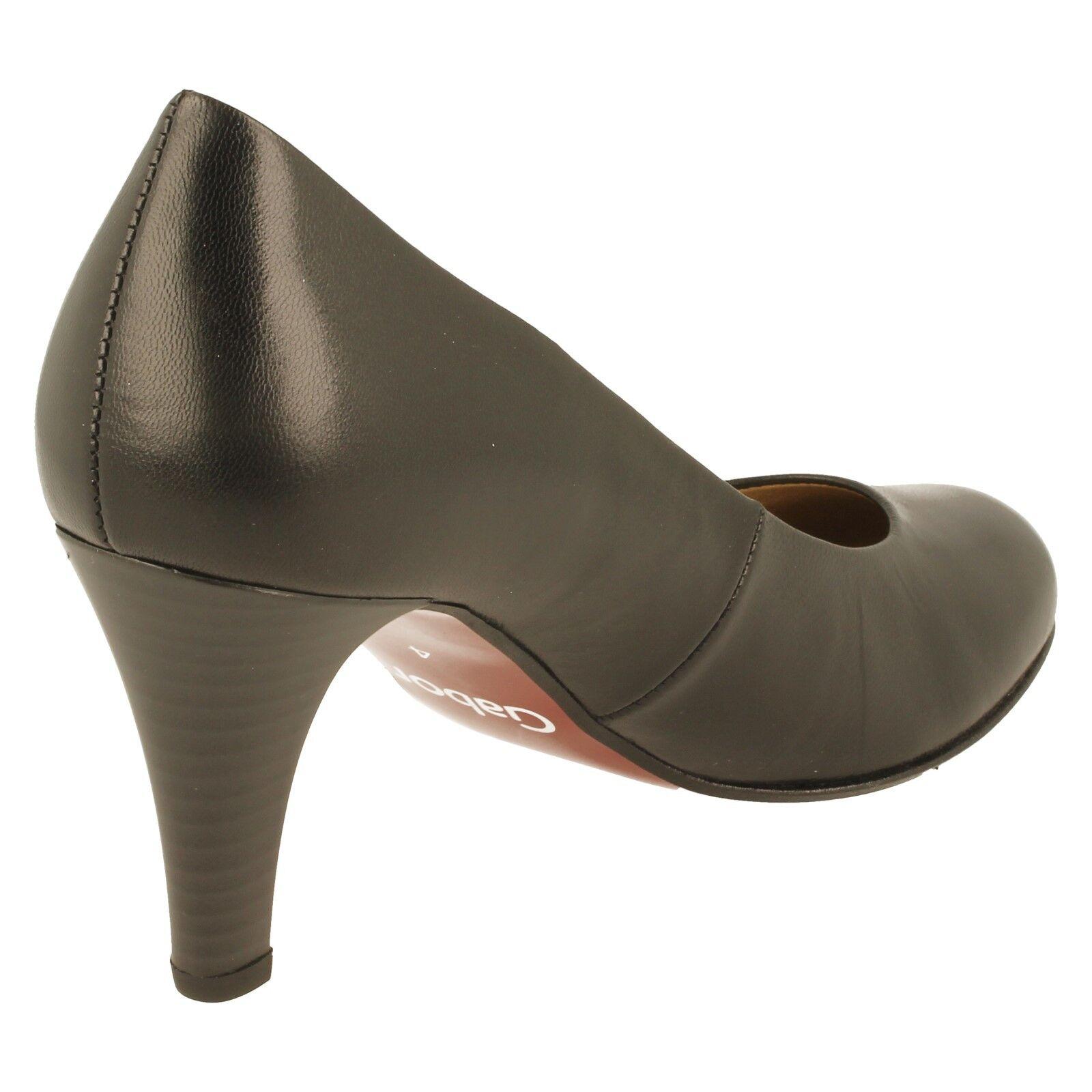 Gabor Ladies Ladies Ladies Court shoes 05.210.37(lavender)Colour Black 8fc9a3
