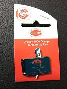 Sydney-2000-Olympics-100-Days-1-Celebration-Torch-Relay-Pin-Badge-3233115C7
