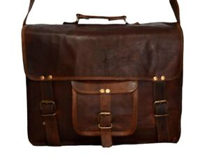 Men-039-s-Leather-Messenger-Shoulder-Bags-Business-Work-Briefcase-Laptop-Bag-Handbag