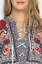 JOHNNY-WAS-Embroidered-MICA-LACEUP-HENLEY-TUNIC-Dress-Roses-WORKSHOP-S-278 thumbnail 4