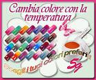 GEL TERMICO CAMBIA COLORE UV CAMALEONTE 2 COLORI RICOSTRUZIONE UNGHIE NAIL ART