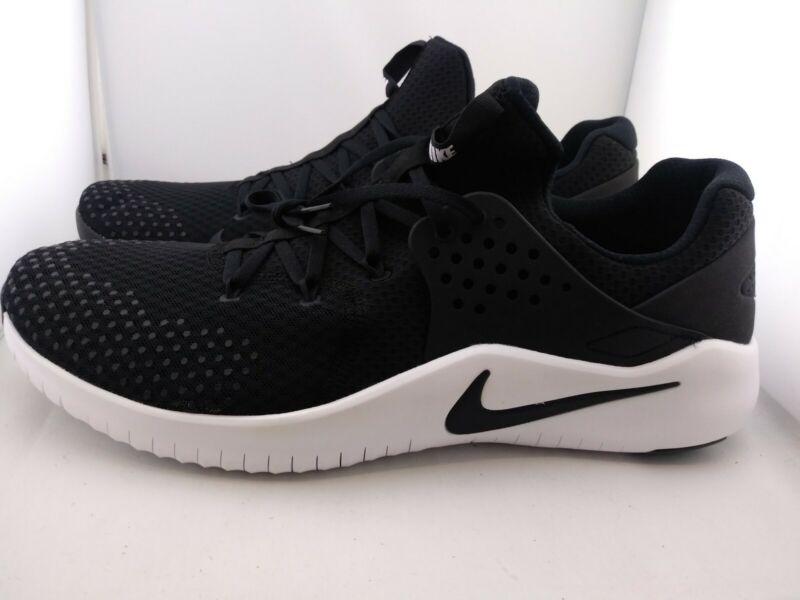 Nike Free Tr 8 Tb Black/white Running Shoe's Men's Us 15 (i)