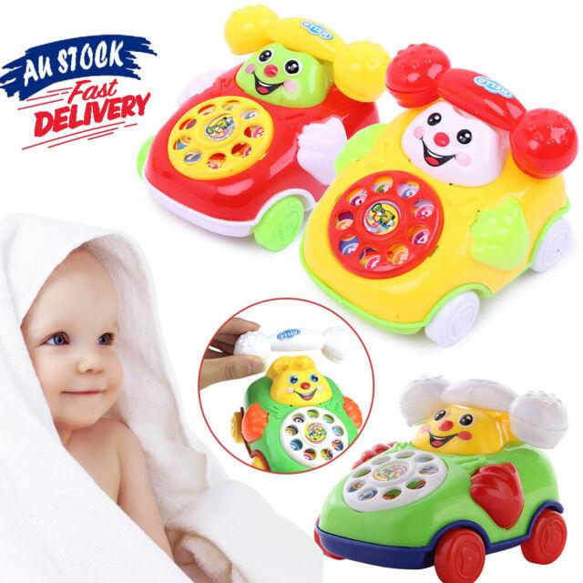 Hot Chic Developmental Kids Toy Music Gifts Educational Cartoon Phone Baby Toys