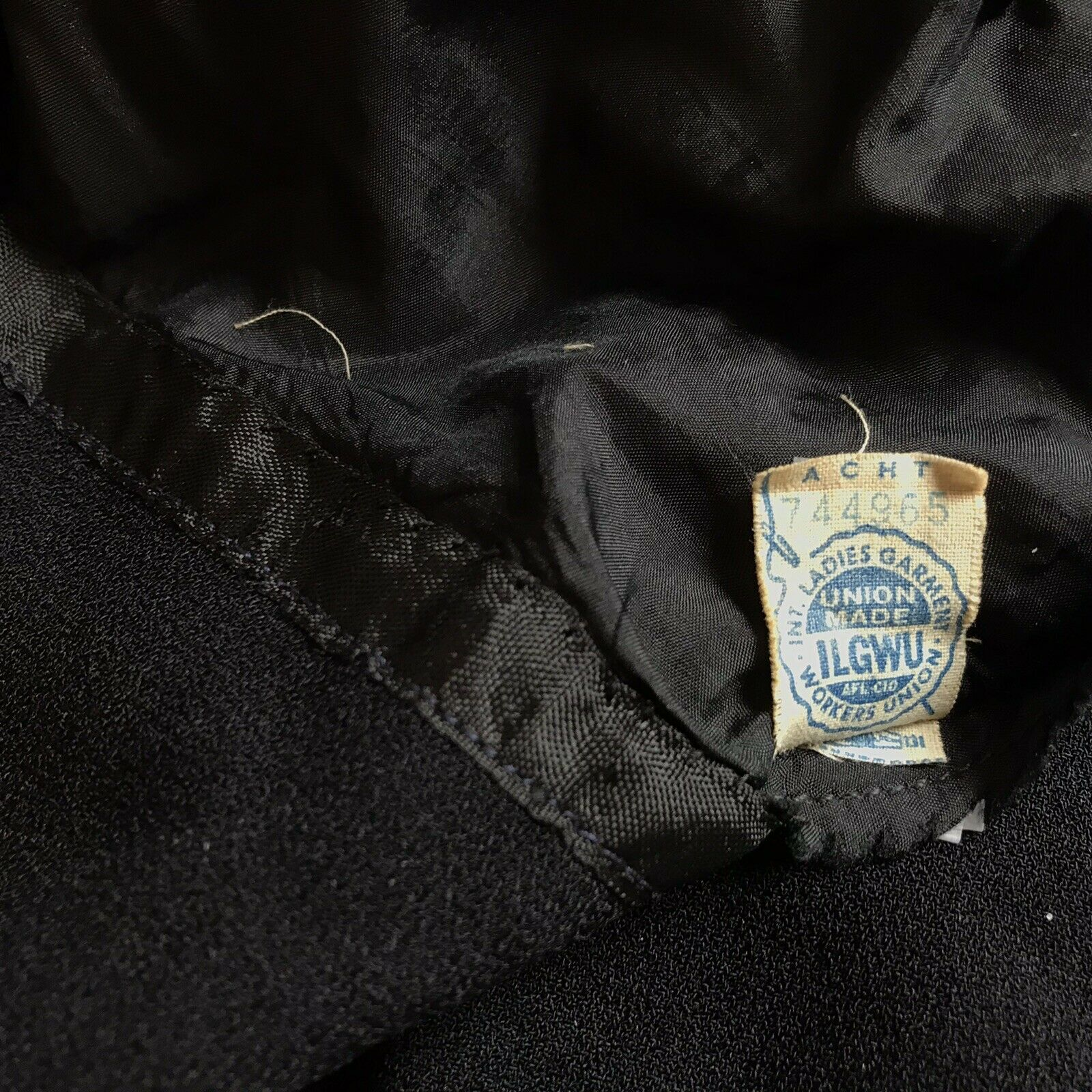 Ceil Chapman Vintage Black Dress - image 5