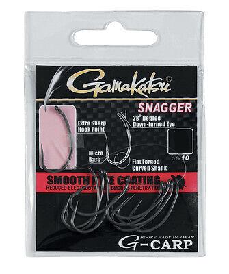 surf casting Ami Gamakatsu Long Claw G-Carp A1 varie misure pesca carp fishing