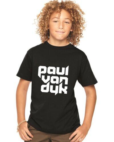 KIDS CHILDRENS T SHIRT PAUL van Dyk house music trance pvd 2 COLS available dj