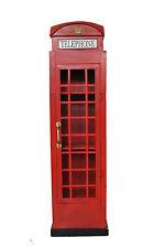 Telefonzelle Englische Höhe160 xBreite45x35cm London 1920 Dekoration und Schrank