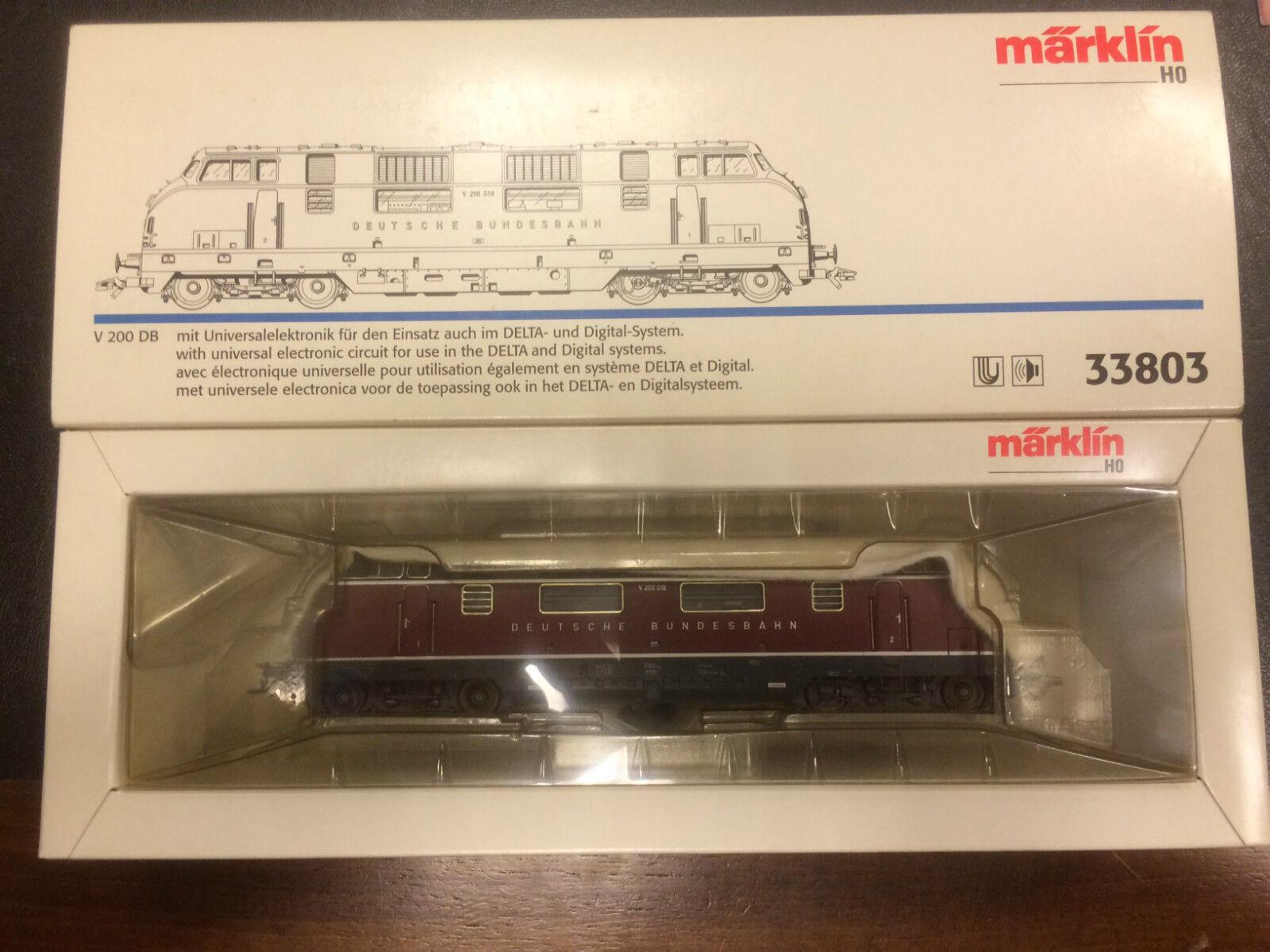 Marklin   HO 33803 Digitale con la sua scatola nuovissimo  cv1 12 15