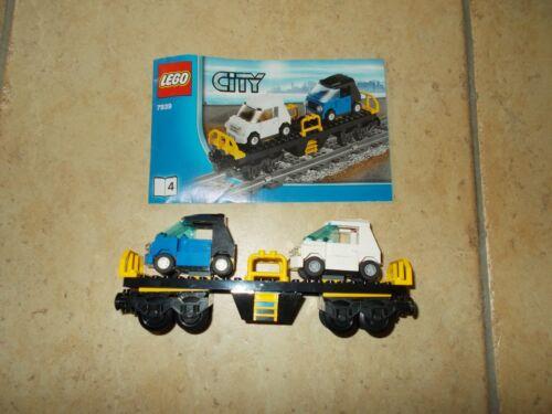 Wagen aus 7939 Autotransporter Lego® City Eisenbahn mit BA RC Set 4