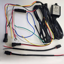 DRL Daytime Running Light Relay Harness Controller Switch Kit On/Off Dimming
