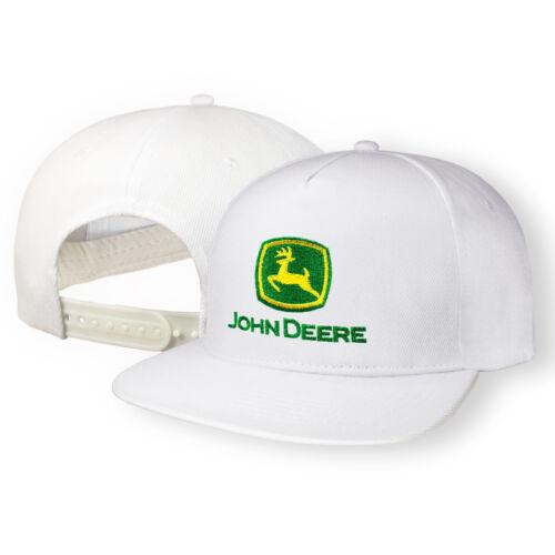 John Deere 5 Paneles Gorra De Béisbol Bordado Auto Cierre trasero a presión Hip Hop Hombre Tractor