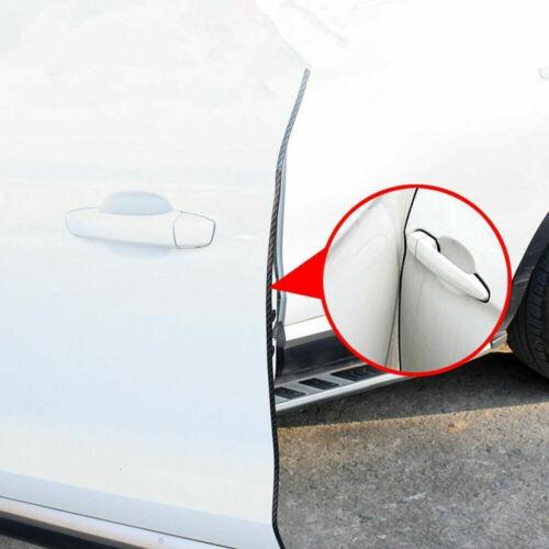 5 M porta auto Bordo Guardie U Forma CHIARA Trim Stampaggio in fibra di carbonio Seal Protettori