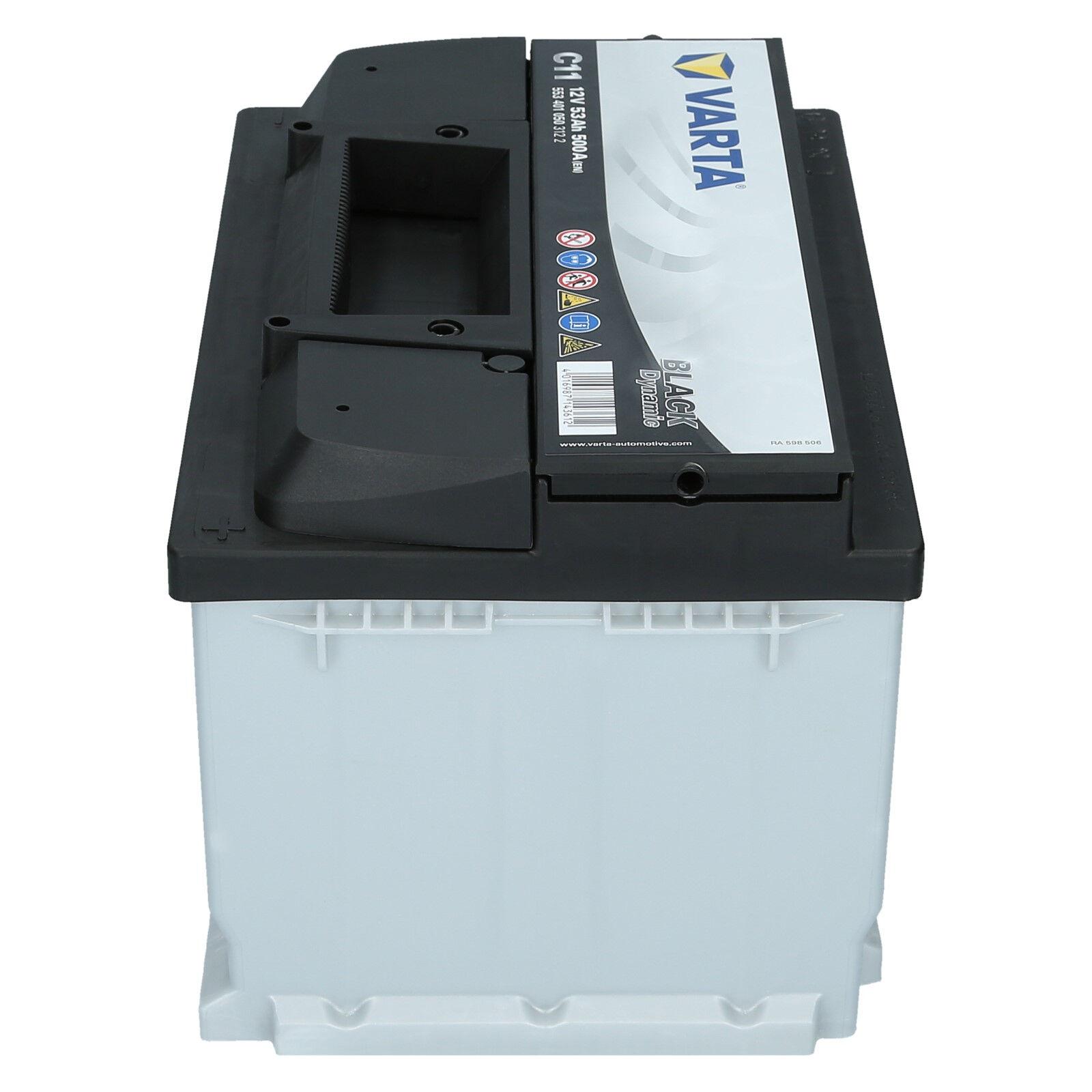 Varta 12V 53 Ah 500A//EN C11 Black Dynamic Autobatterie Starterbatterie NEU