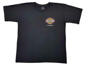 Vintage-Harley-Davidson-Emblem-Logo-Eagle-Tee-Black-Size-XL-Mens-T-Shirt-Mexico
