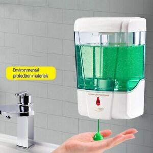 400ml Wandmontage Seifenspender Desinfektionsmittel Infrarot Automatisch Sensor