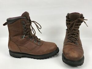 b773ee85a5f Details about Cabelas Gore Tex Thinsulate Boots Mens Size 10.5 D Brown  Hiking Work Shoes 10