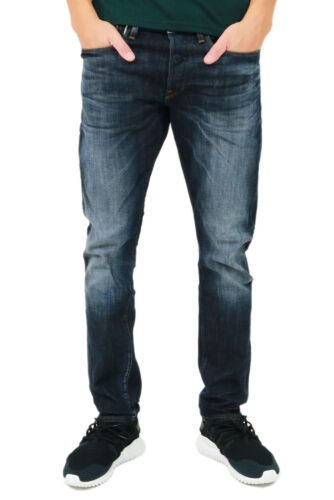 Nuovo Molte Dimensioni G-Star Holmer Tapered 51062.6083.89 dk aged-Jeans-Uomo