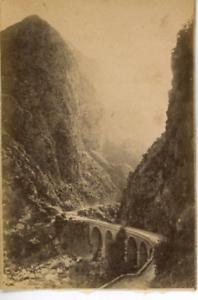Algerie-Gorges-de-Kerrala-Vintage-albumen-print-Tirage-albumine-5-5x8