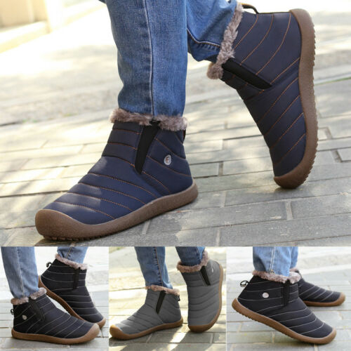 Ankle Snow Boots Winter Shoes New