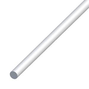 Aluminium Round Bar Rod Multi-Purpose Profile Trim 1000mm