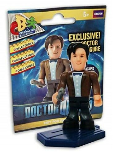 Character Building Doctor Who 11th Doctor Micro Figure avec base Matt Smith