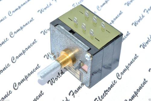 for McIntosh 1pcs ALPS RK40 50KA Black Beauty Audio Potentiometer Half Shaft