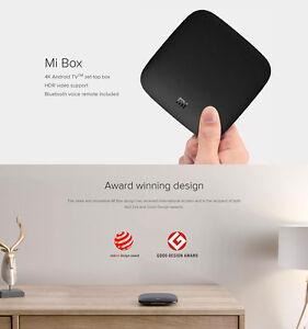 Xiaomi Mi Tv Box 3 4k Hd Wifi Media Streamer Android With Bluetooth