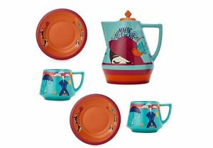 Disney-039-s-Live-Action-MARY-POPPINS-RETURNS-TEAPOT-TEA-SET-Limited-Edition