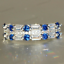 thumbnail 18 - 925 Silver Women Gemstone Birthstone Diamond Wedding Engagement Ring Wholesale