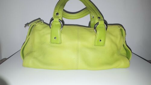 KENNETH COLE REACTION LIME GREEN LEATHER DOCTORS B