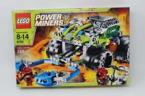 8190 Claw Catcher Lego Power Miners Super Nice! Factory Sealed Box